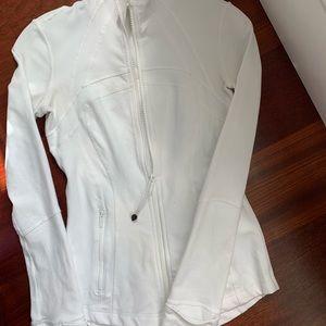 White Lululemon define jacket